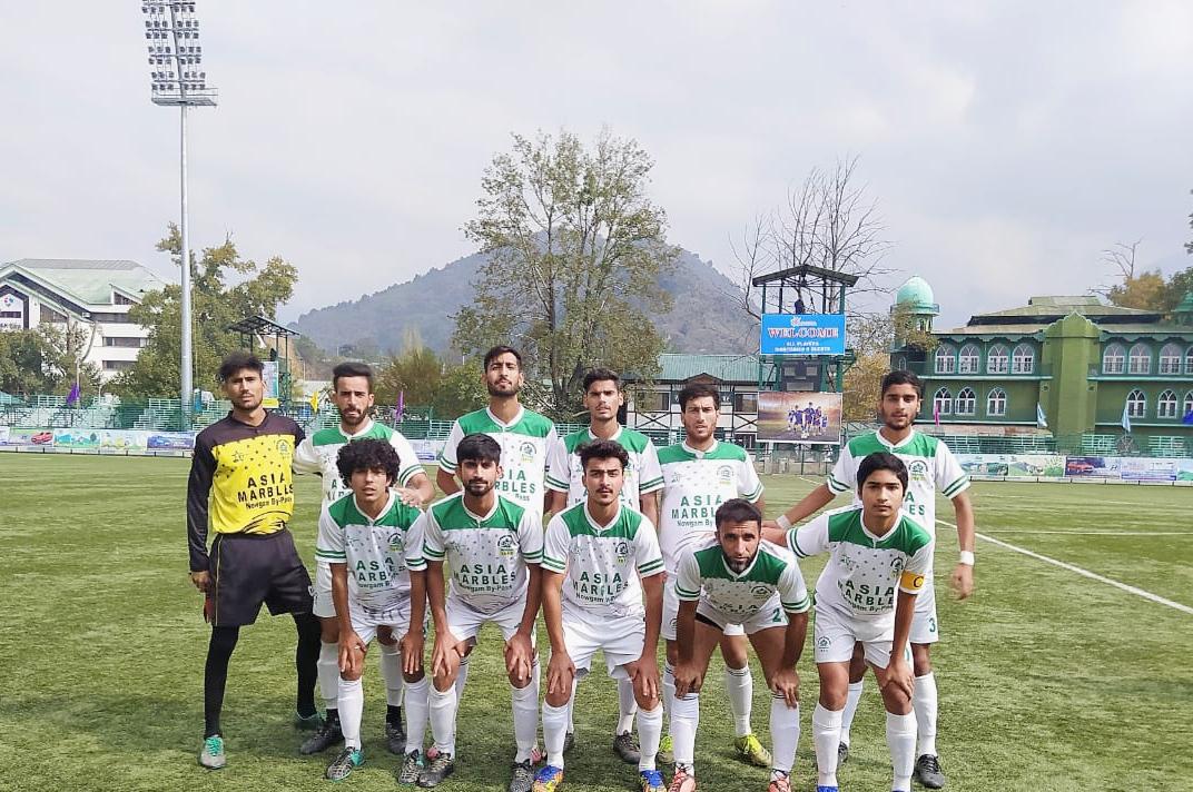 Iqbal Sports, SCFA play goalless draw in Khyber Premier football league