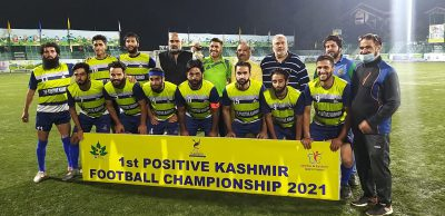 Positive Kashmir Tourney: J&K Police beat Postive Kashmir -XI 3-0